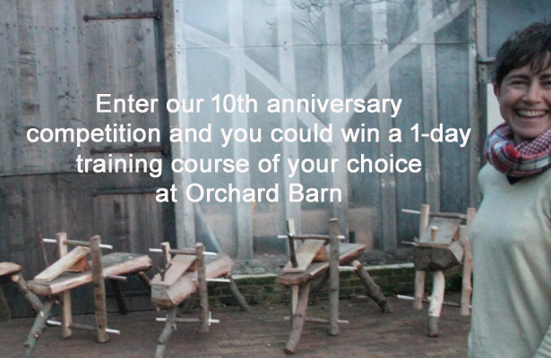 Enter our 10th anniversary competition and win a 1-day course at Orchard Barn