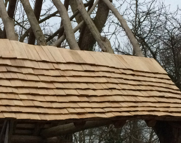 Roundwood Timber Frame And Shingle Roof Construction Course
