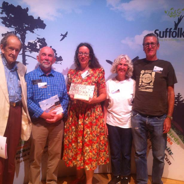 OBee are greenest county award winners